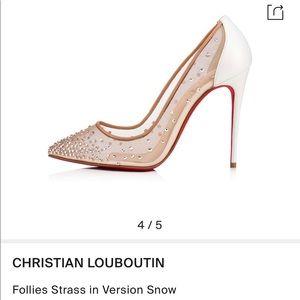 Christian Louboutin follie strass
